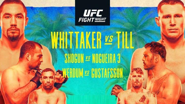 UFC on ESPN 14: Whittaker vs. Till Predictions & Betting Tips