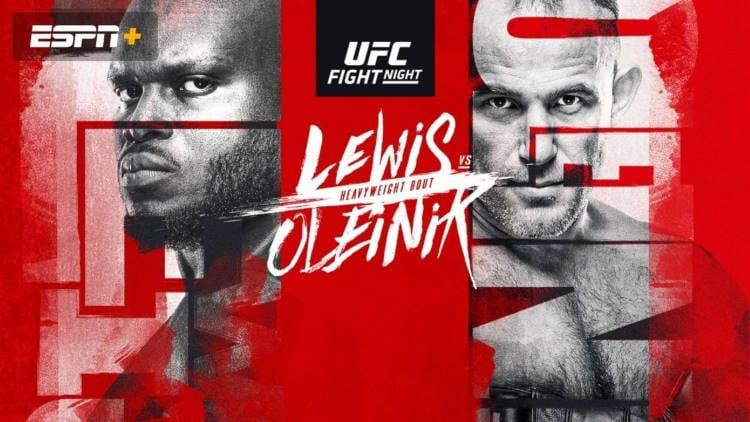 UFC Fight Night: Lewis vs. Oleinik Predictions & Betting Tips