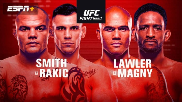 UFC Fight Night: Smith vs. Rakić Predictions & Betting Tips