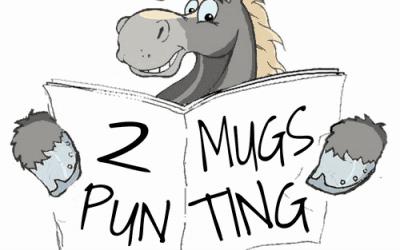 2 mugs punting logo