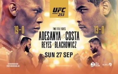 UFC 253: Adesanya vs. Costa Predictions & Betting Tips