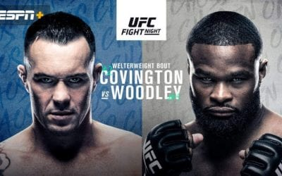 UFC Fight Night: Covington vs. Woodley Predictions & Betting Tips