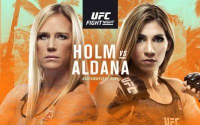 UFC Fight Night: Holm vs. Aldana Predictions & Betting Tips