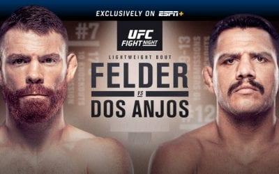 UFC Fight Night: Felder vs. dos Anjos Predictions & Betting Tips