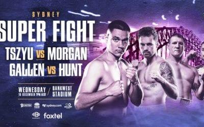 Tszyu vs. Morgan, Gallen vs. Hunt Predictions & Betting Tips